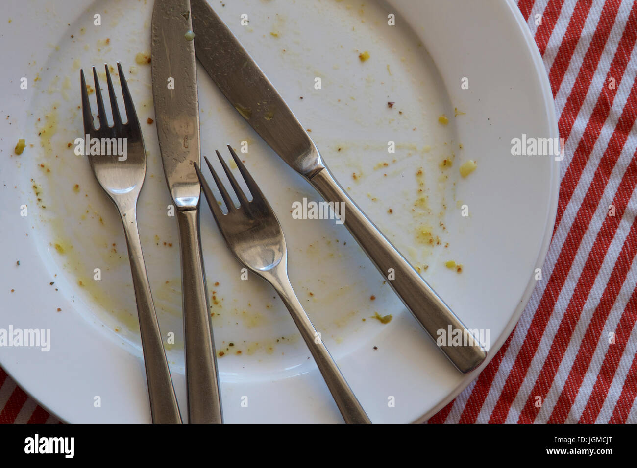 dirty cutlery stockfotos dirty cutlery bilder alamy. Black Bedroom Furniture Sets. Home Design Ideas