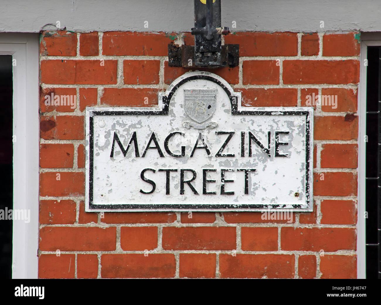 Laden Sie dieses Alamy Stockfoto Zeitschrift St, Londonderry Stadt Nordirland - JH6747
