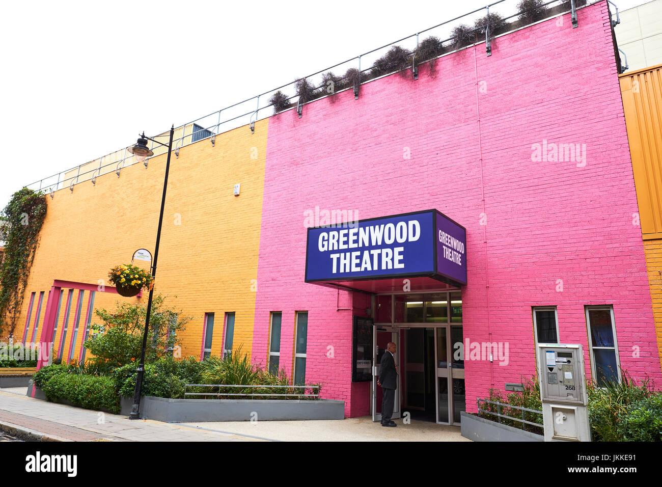 Greenwood Theater, Weston Street, Southwark, London, UK Stockbild
