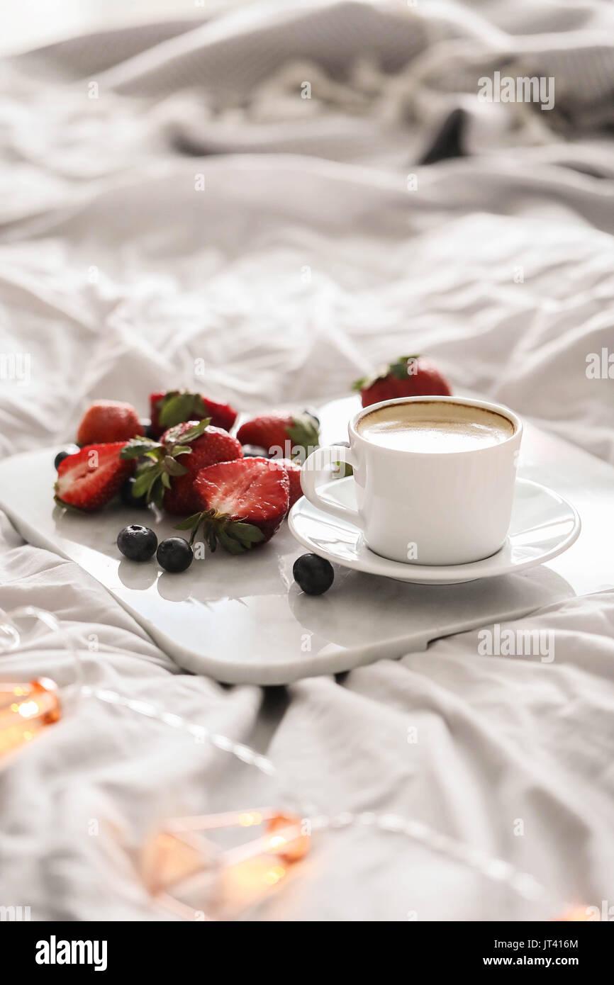Frühstück Stockbild