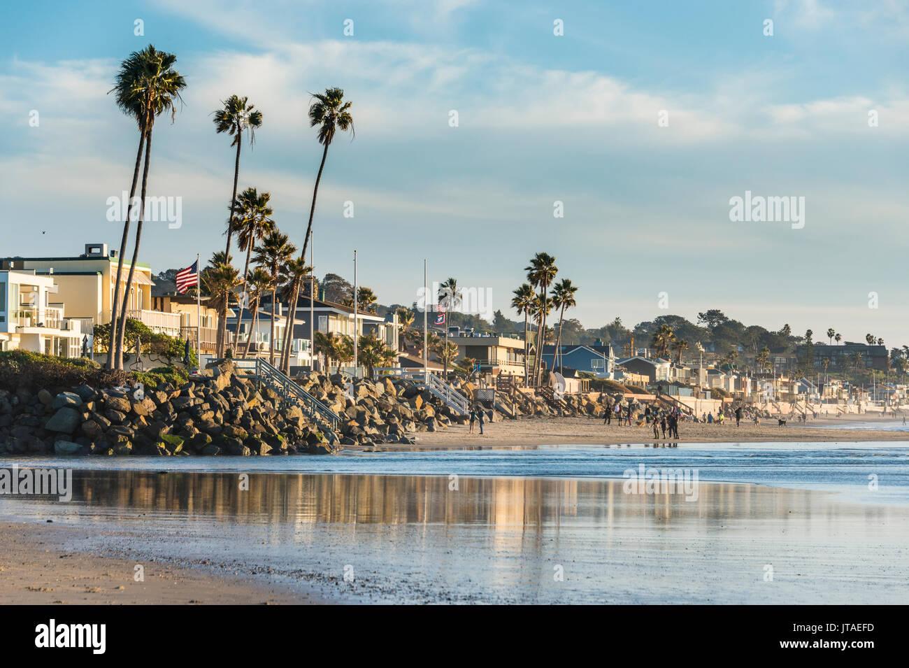 Der Strand von Del Mar, Kalifornien, Vereinigte Staaten von Amerika, Nordamerika Stockbild
