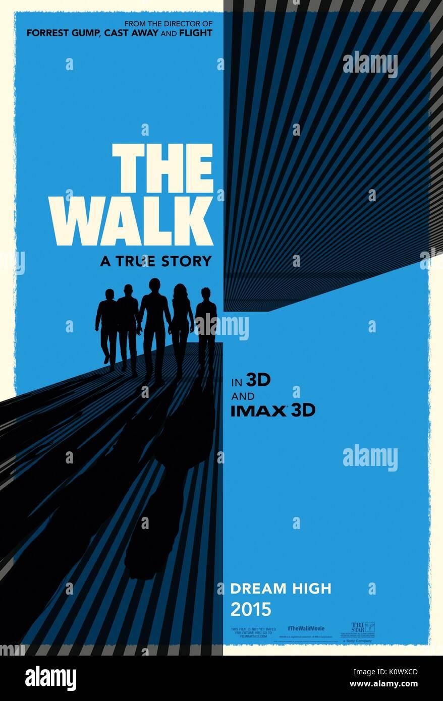 Filmplakat der Spaziergang (2015) Stockbild