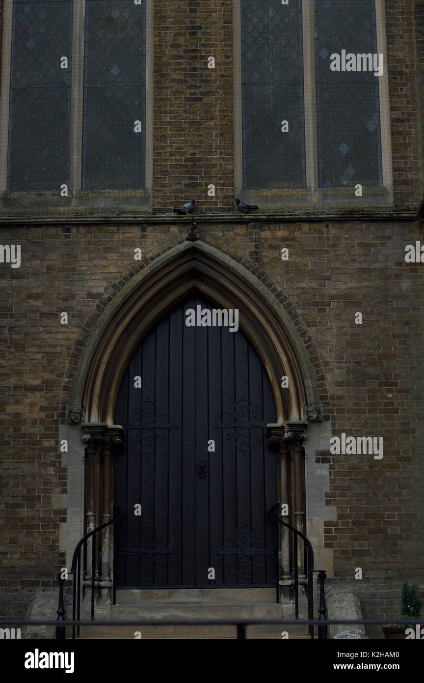 Carey Baptist Church Stockbild