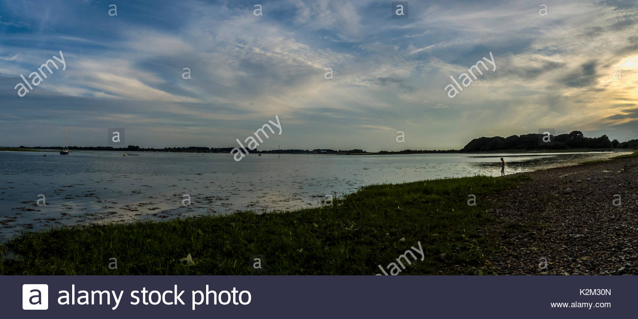Strand, Emsworth Hampshire England Stockbild