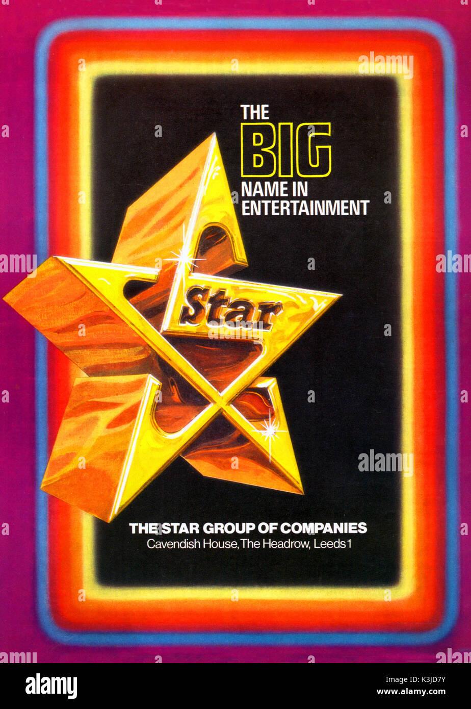 STAR KINOS: Ein britisches Kino Stromkreis Stockbild