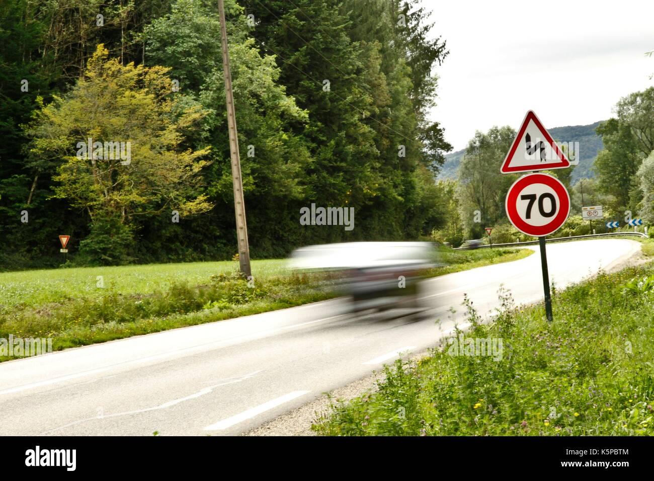 Geschwindigkeit Für Lkw