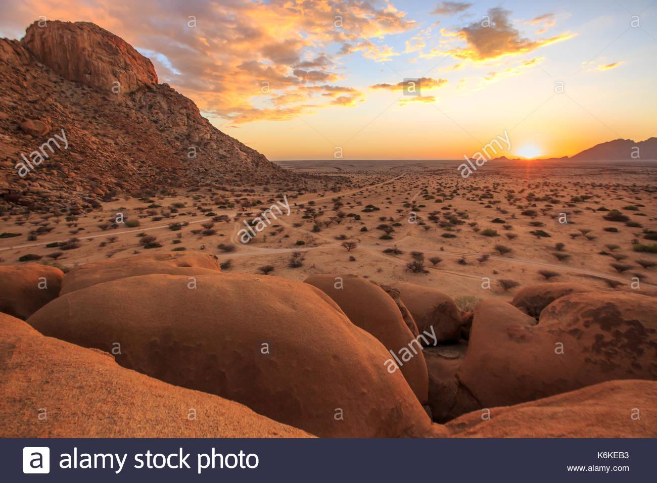 Spitzkoppe, Damaraland, Namibia Stockbild