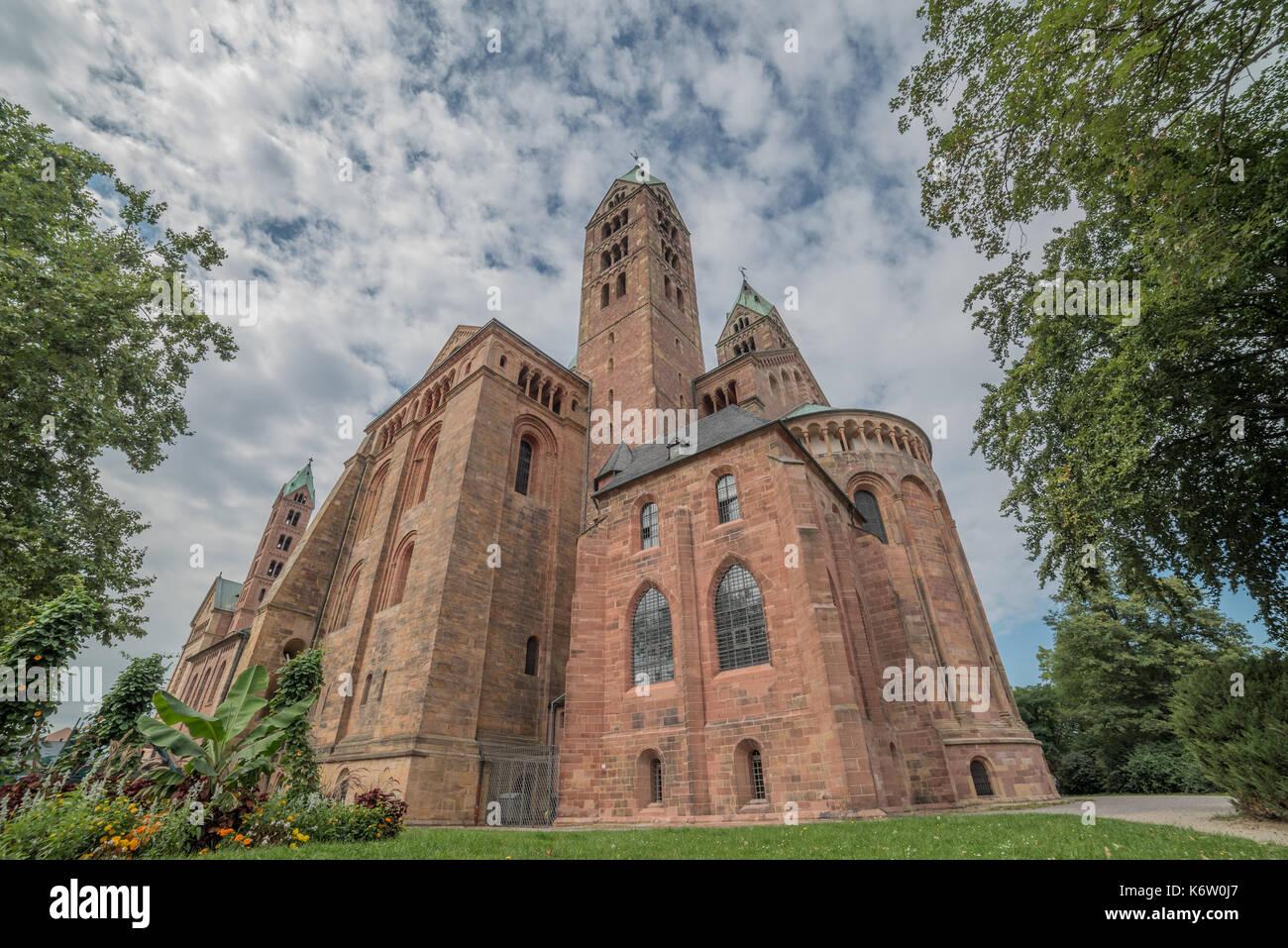 Reisen, Deutschland, Rheinland-Pfalz, Speyer, Innenstadt, September 04. Stockbild