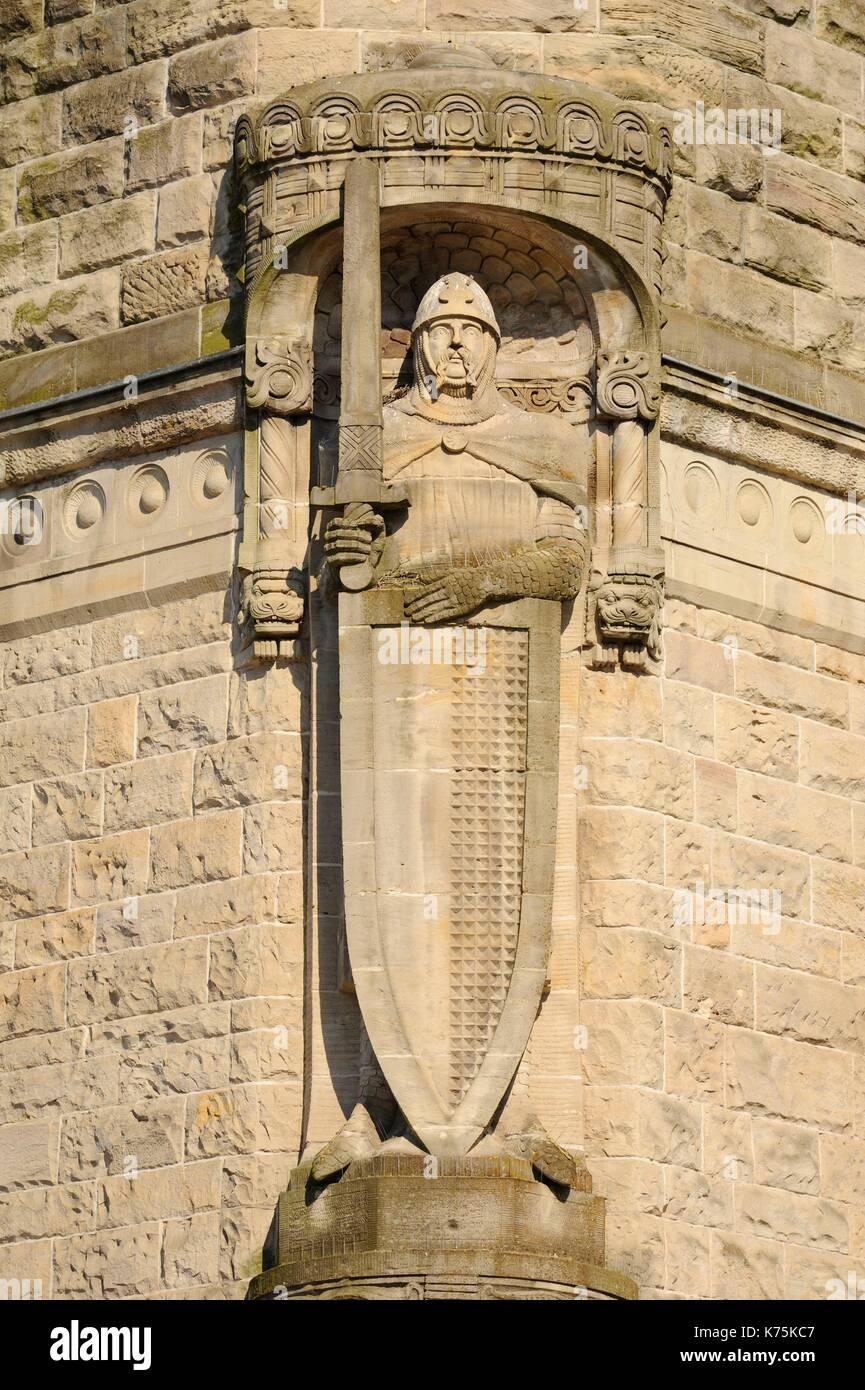 Frankreich, Moselle, Metz, Bahnhof von Metz-Ville 1908 eingeweiht und Gewählten in den schönsten Bahnhof Stockbild