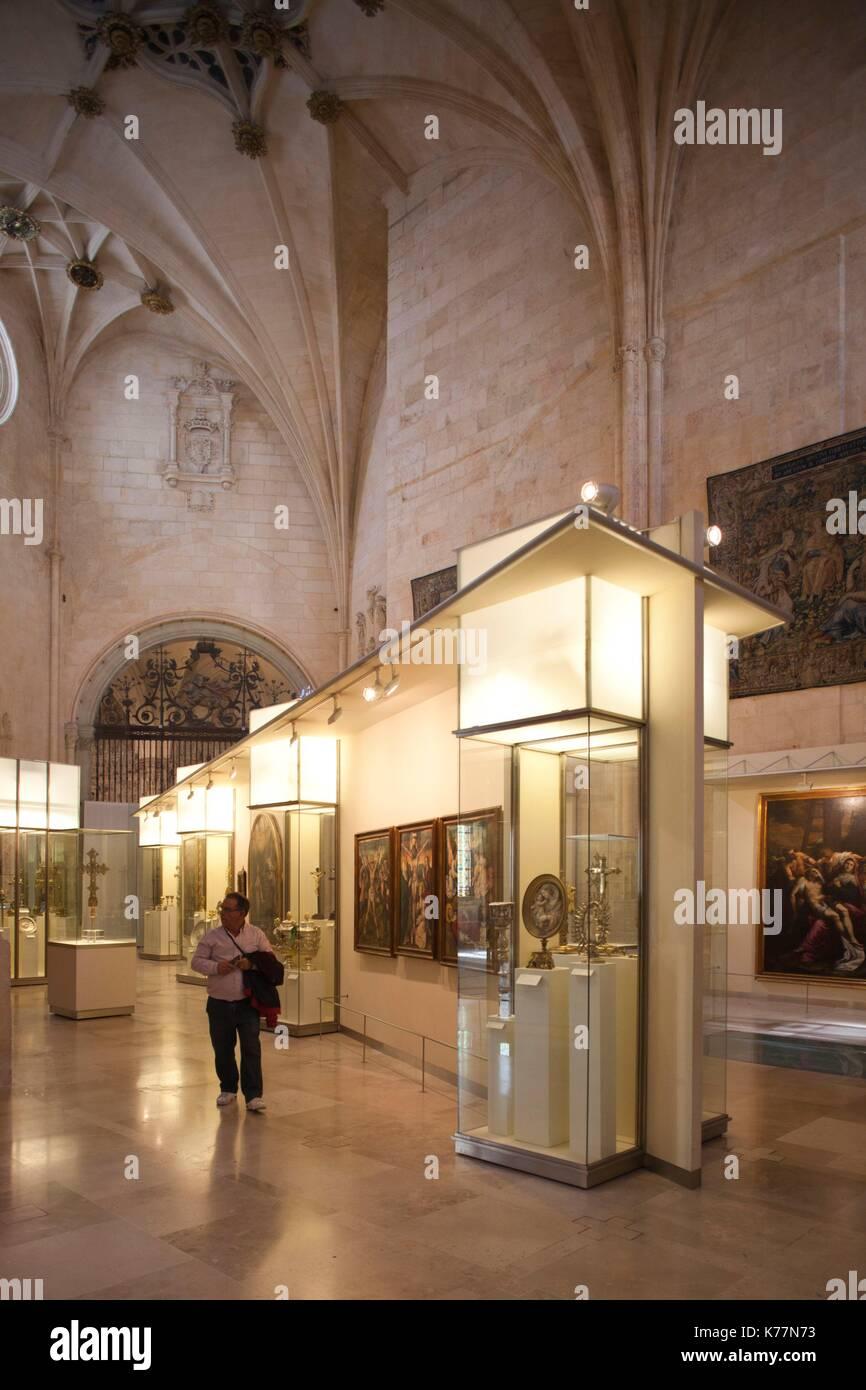 Spanien, Region Castilla y León, Burgos Provinz, Burgos, Kathedrale von Burgos, museum Stockbild