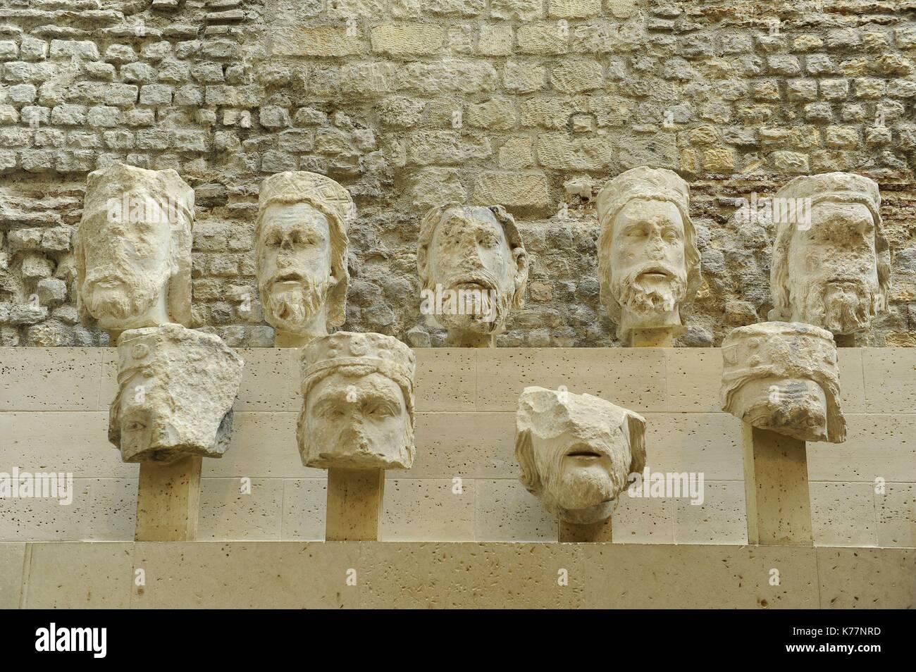 Frankreich, Paris, Musée de Cluny, von seinen offiziellen Namen National Museum des Mittelalters Stockbild