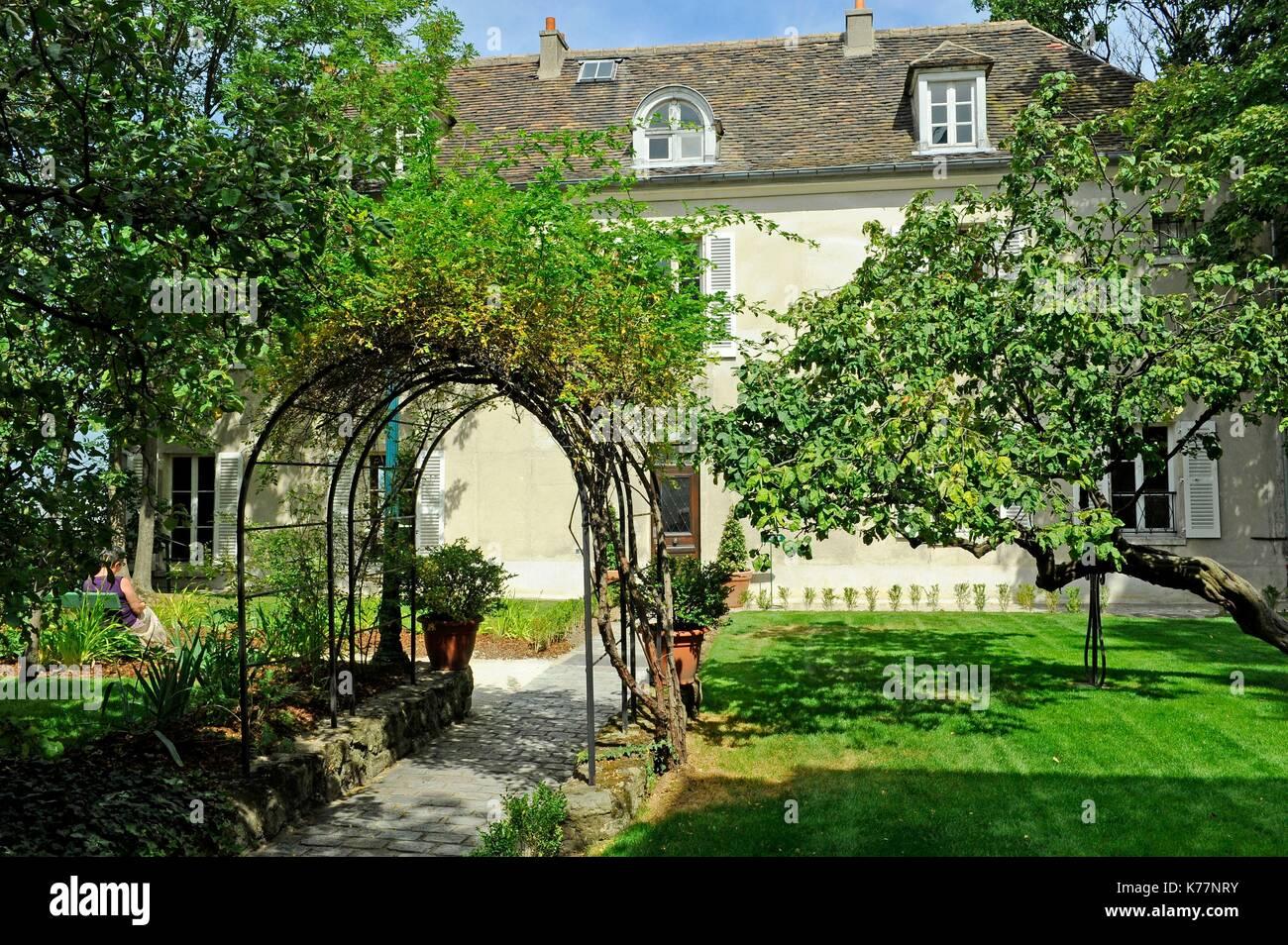 Frankreich, Paris, Stadtteil Montmartre, das Museum von Montmartre Stockbild