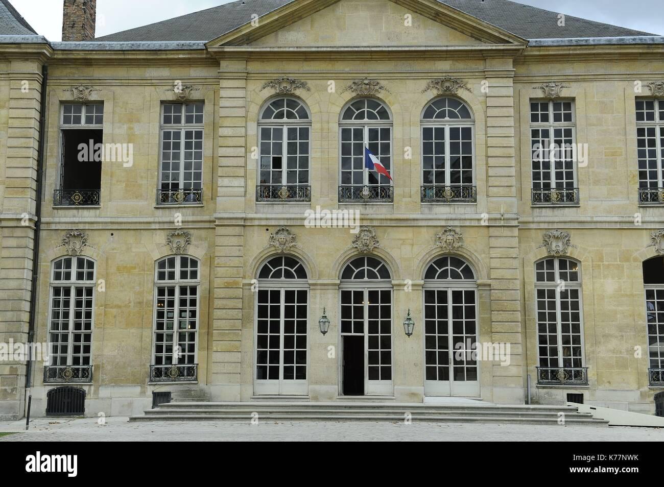 Frankreich, Paris, Rodin Museum, im Hotel Biron Stockbild