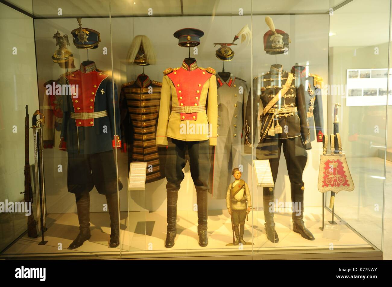 Frankreich, Paris, UNESCO Weltkulturerbe, Invalides, das Museum der Armeen Stockbild