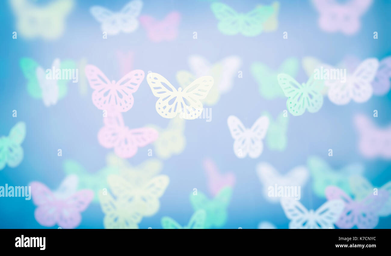Abstrakte Schmetterling Hintergrund, Süßes, Kleines Kinderzimmer Dekoration,  Schöne Girly Grußkarte In Pastellfarben, Ausschreibung, Einladung Hochzeit