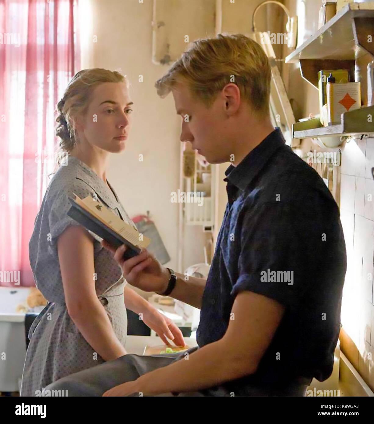 Der Reader 2008 EWeinstein Unternehmen Film mit Kate Winslet und David Kross Stockbild