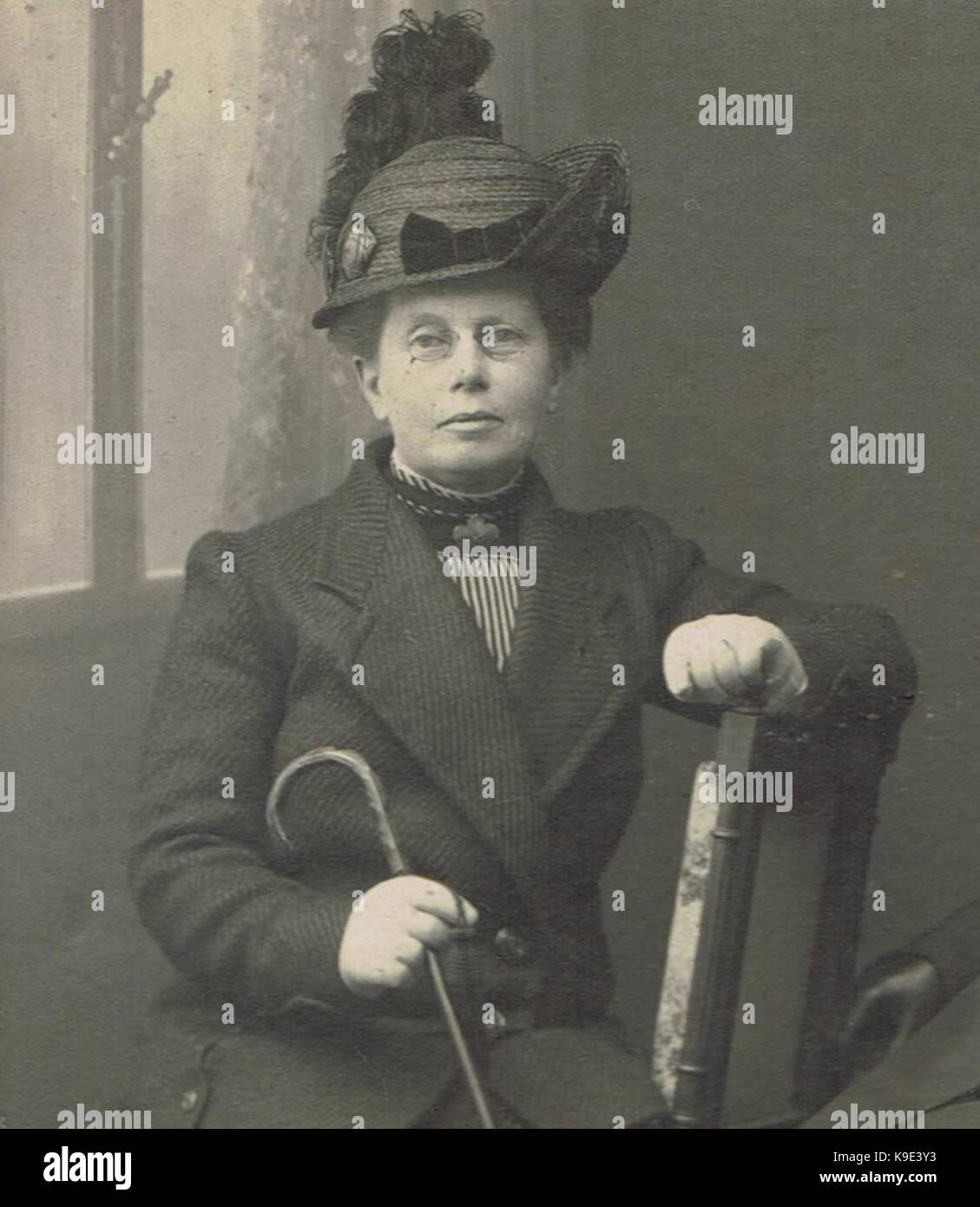 Mej. Anna Clasina Leijer Stockbild