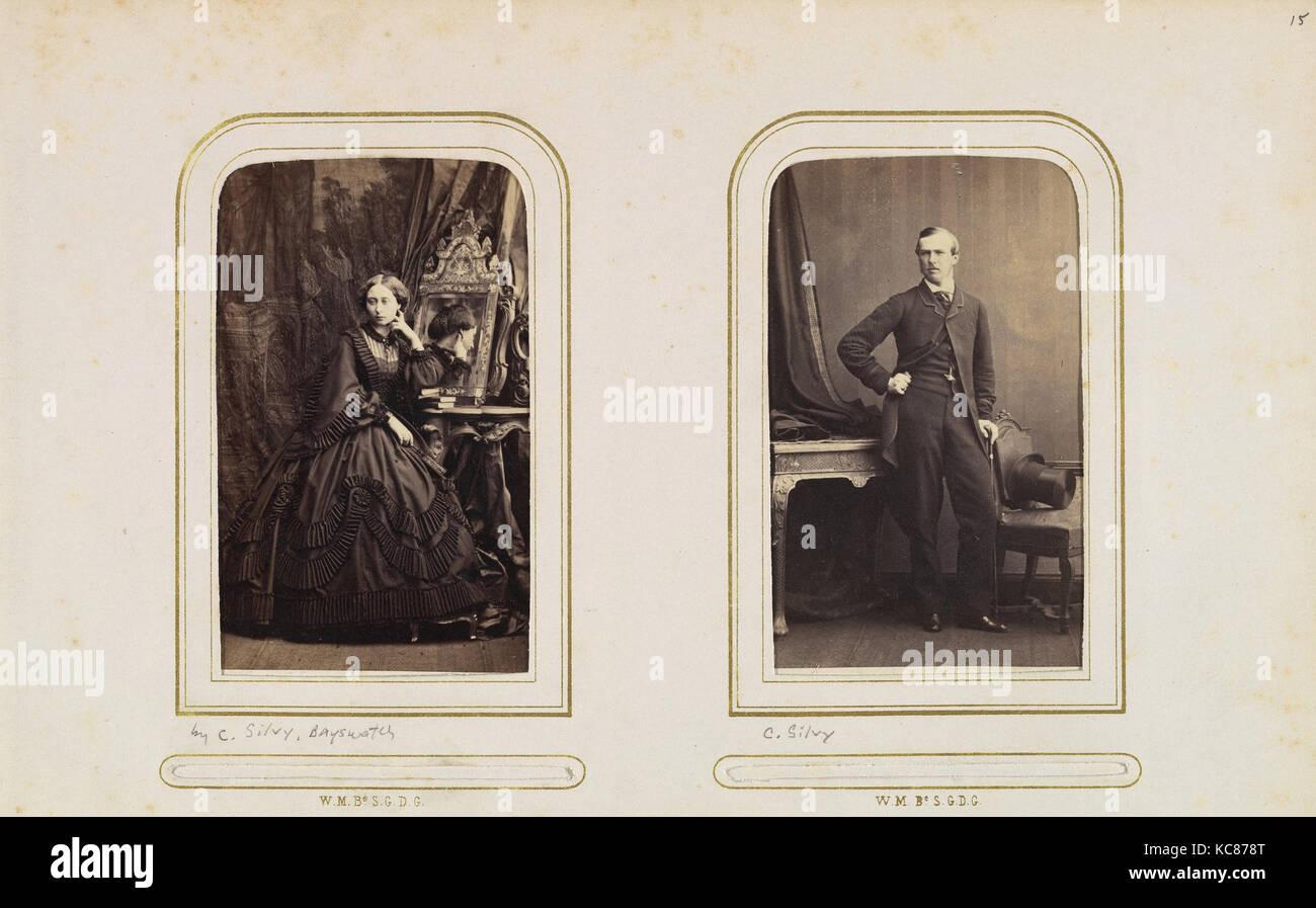 Carte De Visite Album Der Britischen Und Europaischen Konigshausern W Joubert 1860 S