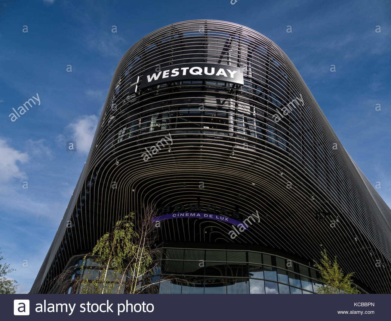Southampton, Hampshire england West Quay Stockbild