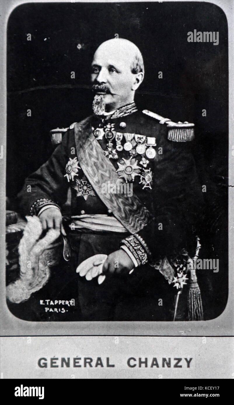 Foto: Antoine chanzy (1823-1883), ein französischer General während des französisch-preußischen Stockbild