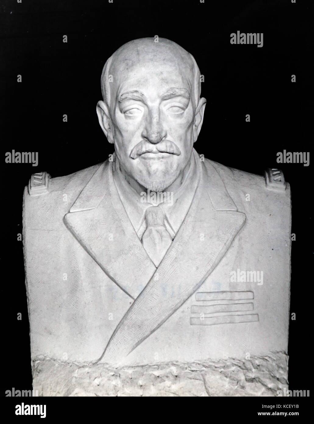 Büste von Jean Martin charcot (1825-1893), französischer Neurologe und Professor für pathologische Stockbild