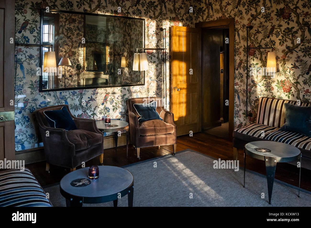 Hotel ENDSLEIGH Stockbild