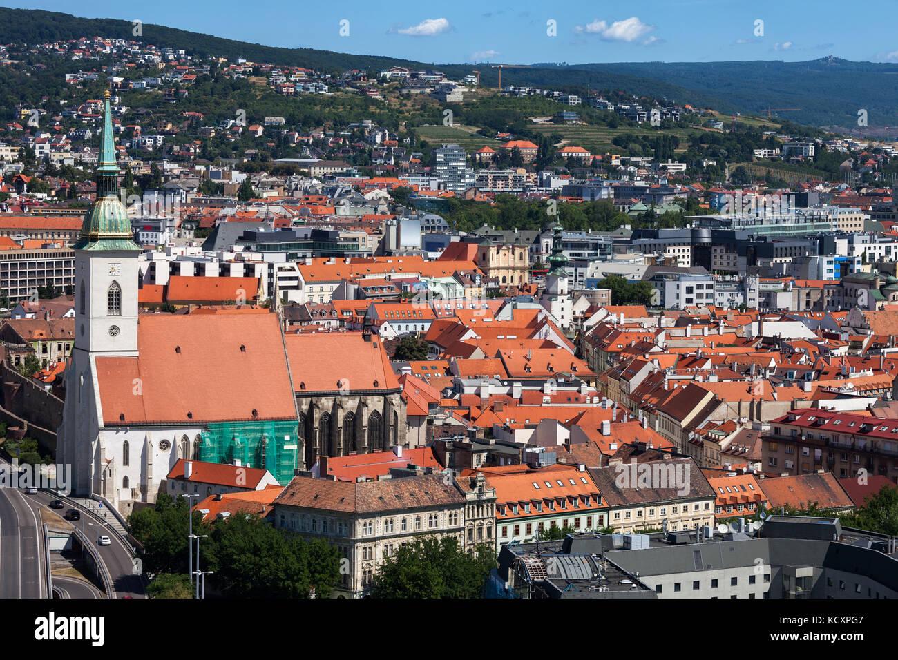 bratislava slovakia city roof stockfotos bratislava. Black Bedroom Furniture Sets. Home Design Ideas