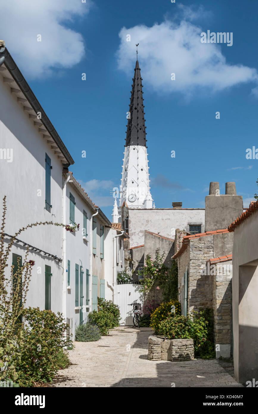 Ars-en-Re, saint-martin-de Re, Ile de Re, Nouvelle - Aquitaine, Französisch westcoast, Frankreich, Stockbild