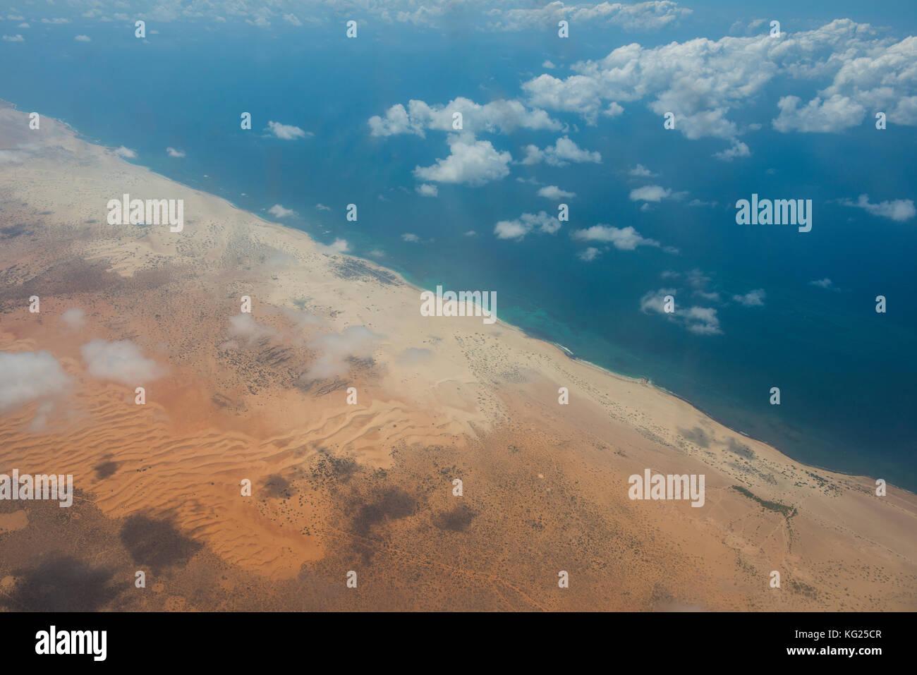 Küste von Somalia, Afrika Stockbild