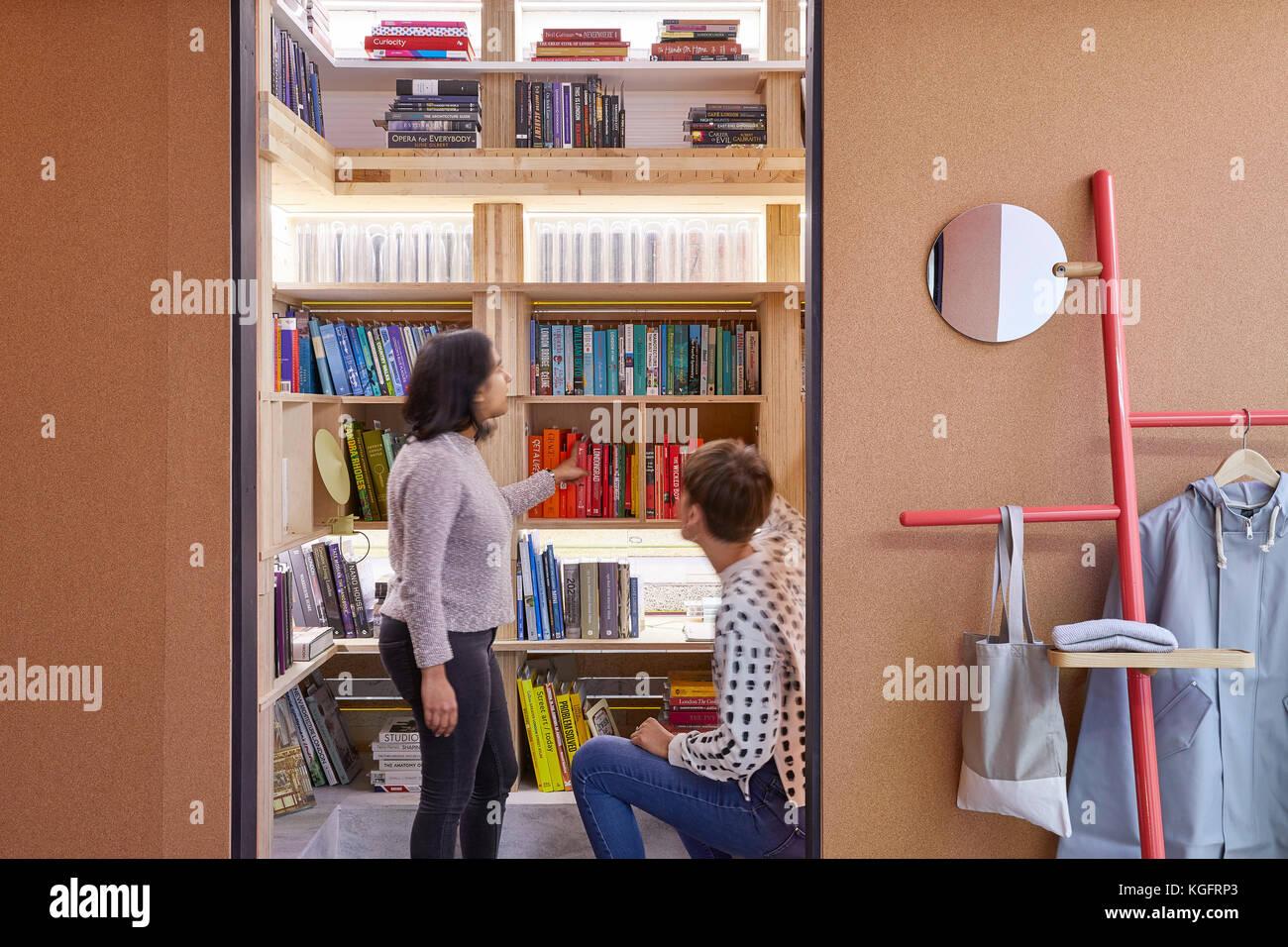 Lala. Der Stack - mini Living urban Kabine, London, Großbritannien Architekt: sam Jacob Studio, 2017. Stockbild