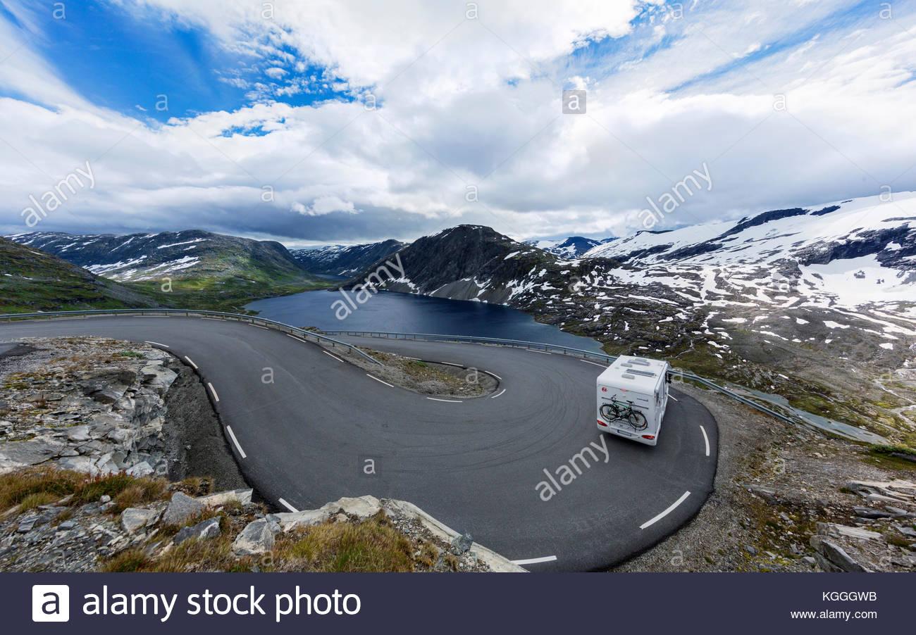 Skandinavische Halbinsel Stockbild