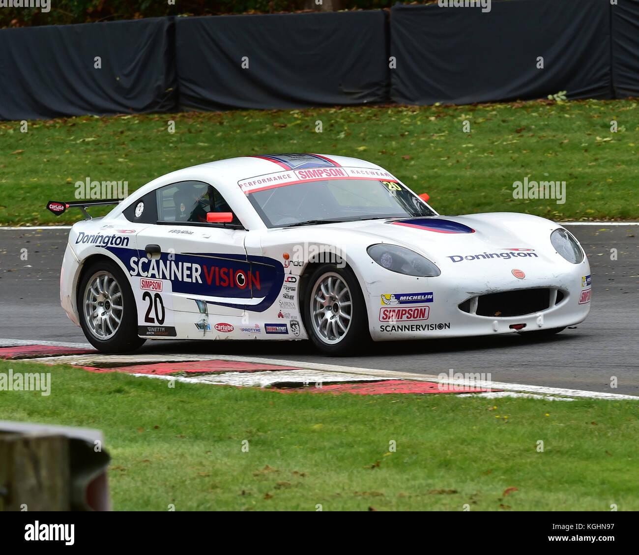 Tom Wood, ginetta g40 Junior, ginetta Junior Meisterschaft, btcc Brands Hatch, Sonntag, 1. Oktober 2017, Autosport, Stockbild