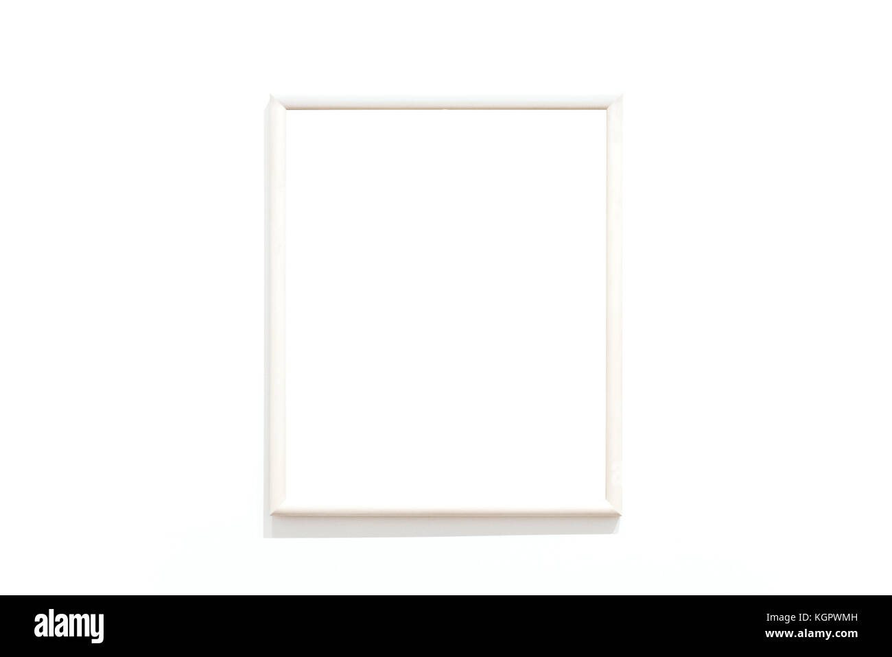leeren Rahmen an der Wand Stockfoto, Bild: 165230929 - Alamy