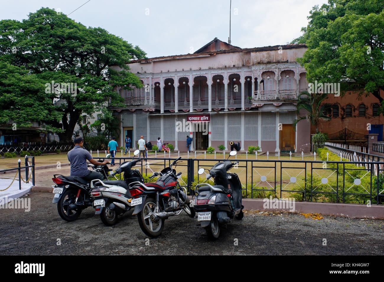 Darbar Hall, Sangli, Maharashtra, Indien Asien Stockbild