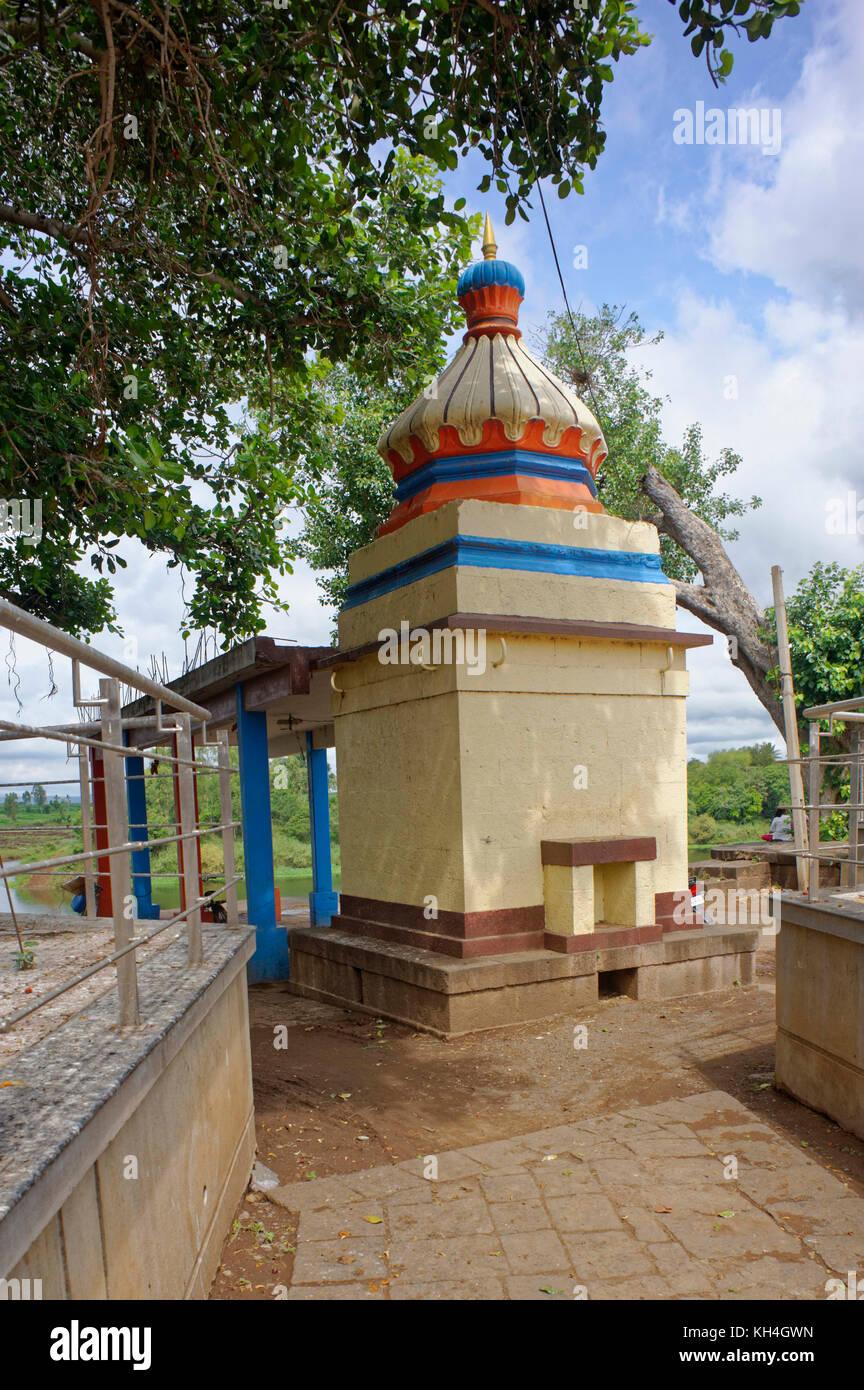 Amba mata Tempel, Sangli, Maharashtra, Indien, Asien Stockbild