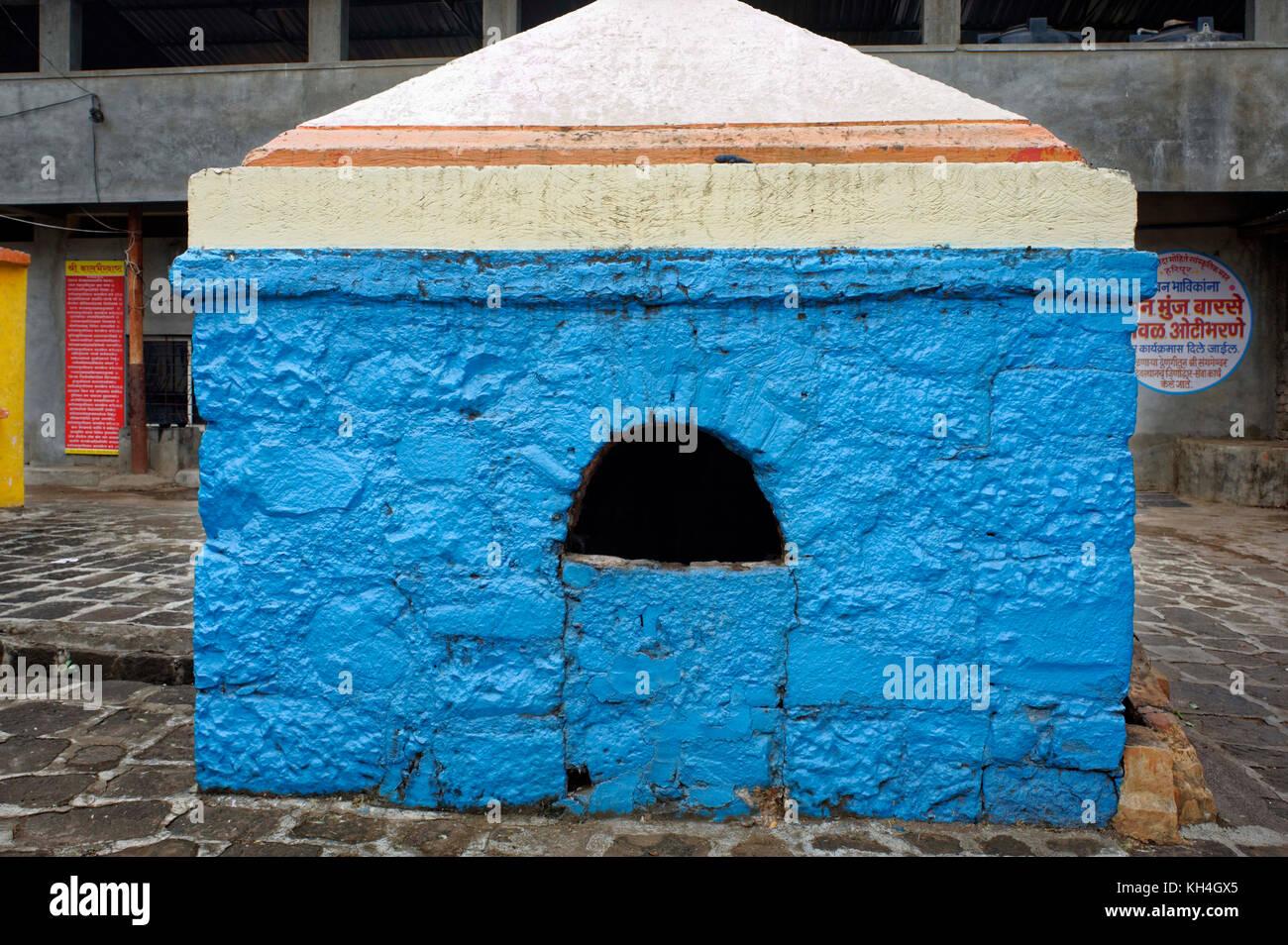 Tirth kund im sangameshwara Tempel Komplex, Sangli, Maharashtra, Indien, Asien Stockbild