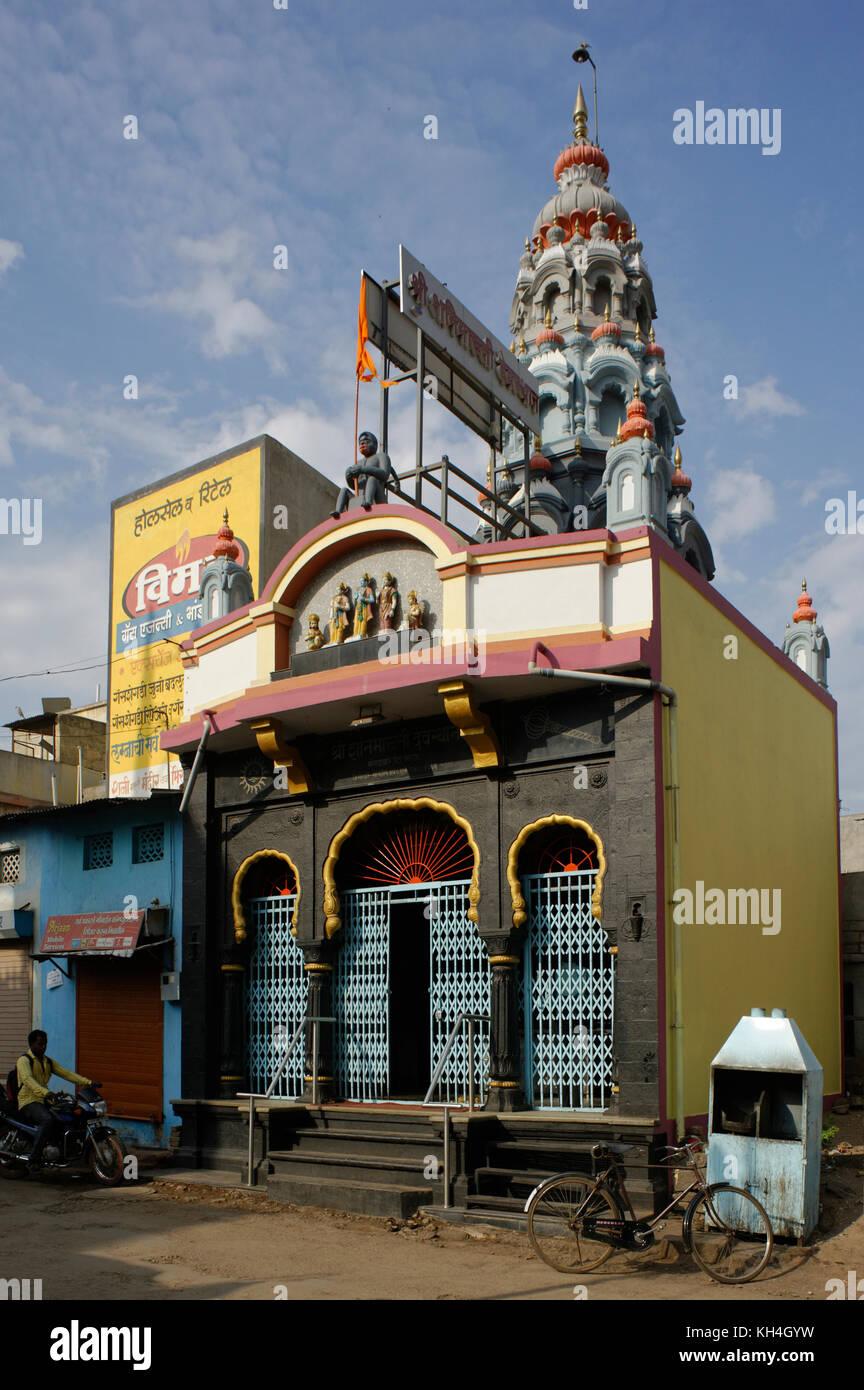 Shree Shani maruti Tempel, miraj, Maharashtra, Indien, Asien Stockbild