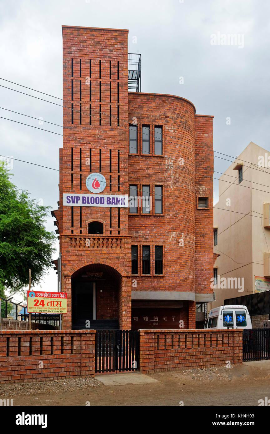 Svp Blutbank bei miraj, Maharashtra, Indien, Asien Stockbild