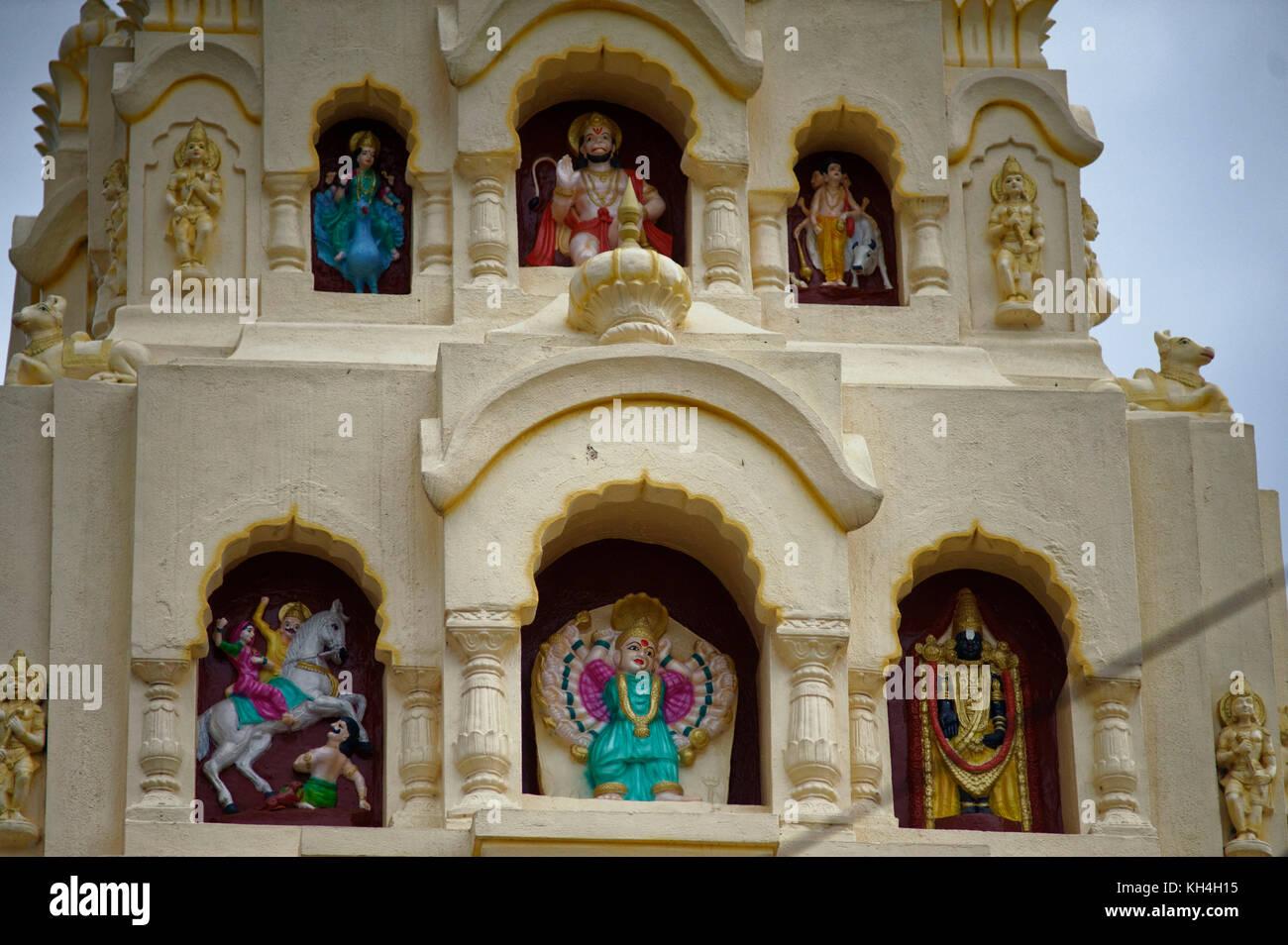 Ambabai Tempel, miraj, Maharashtra, Indien, Asien Stockbild