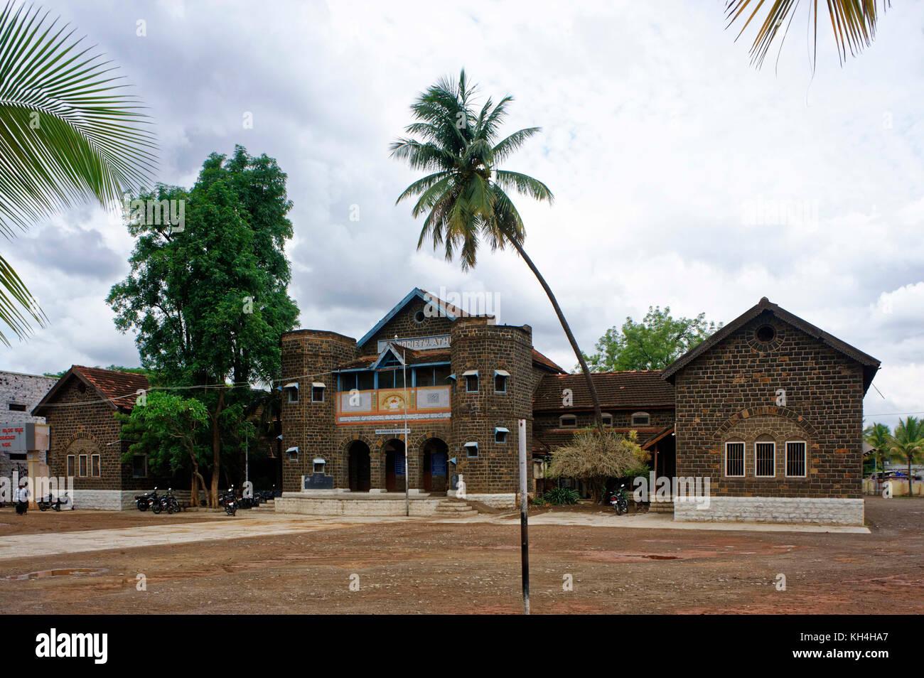 J s gesellschaft Schulgebäude, belagavi, Karnataka, Indien, Asien Stockbild