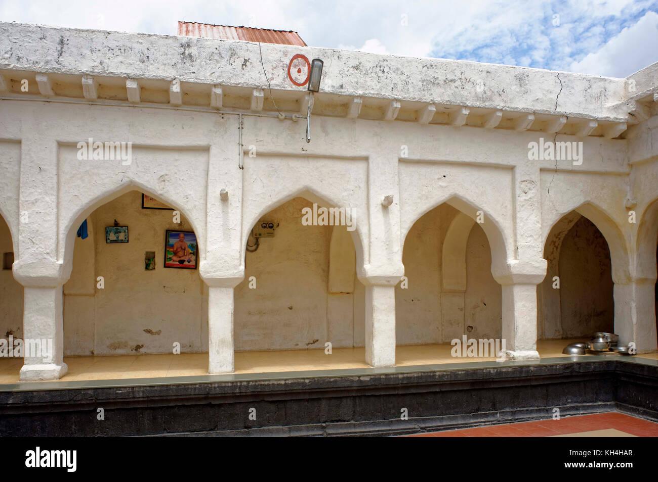 Bhramnath Mandir, Jain Ashram, kagwad, belagavi, Karnataka, Indien, Asien Stockbild