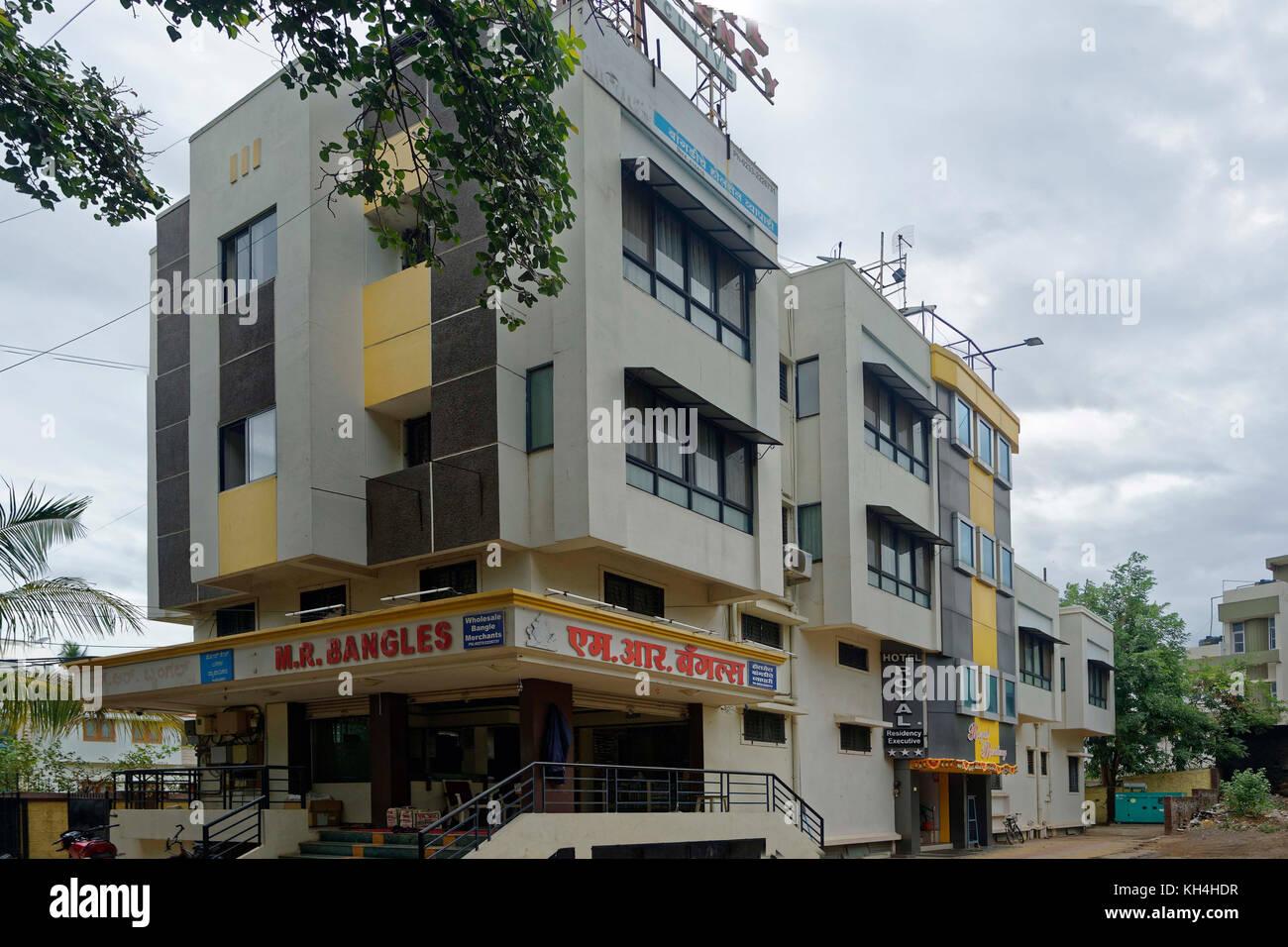 Hotel Royal At miraj, Maharashtra, Indien, Asien Stockbild