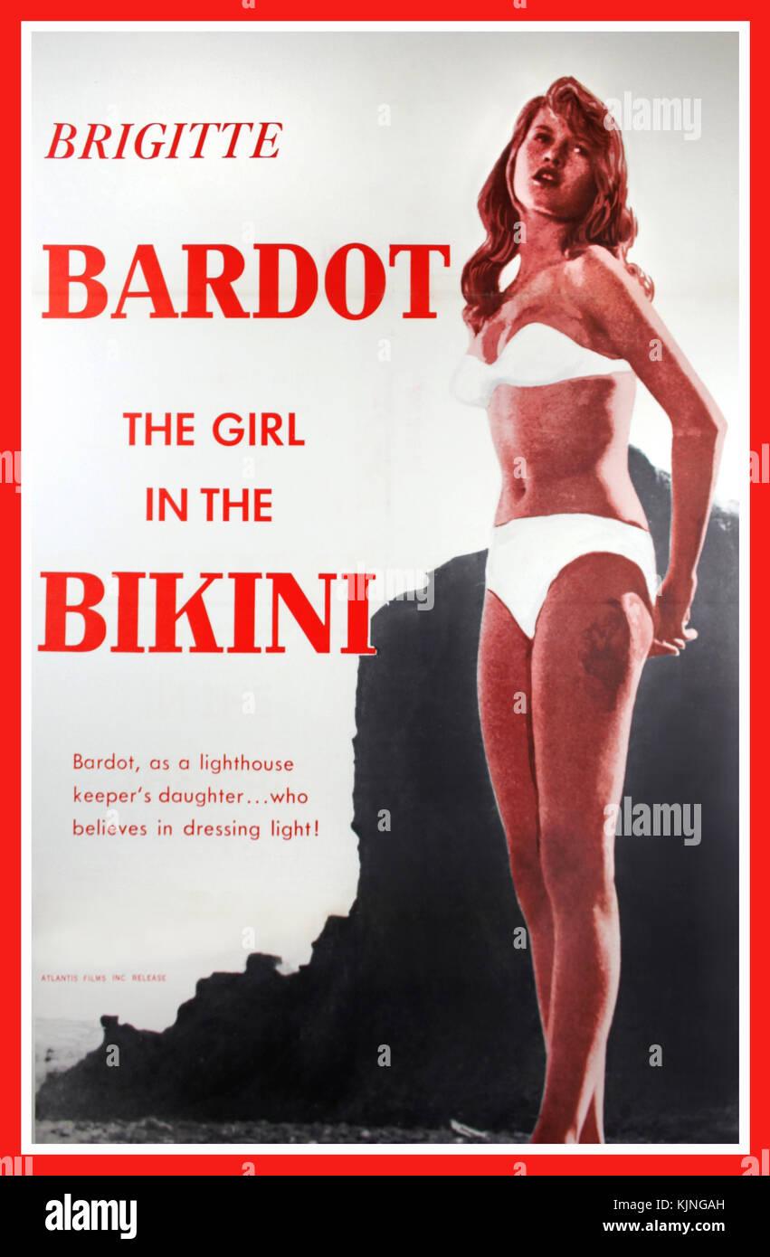bikini 1960s stockfotos bikini 1960s bilder alamy. Black Bedroom Furniture Sets. Home Design Ideas