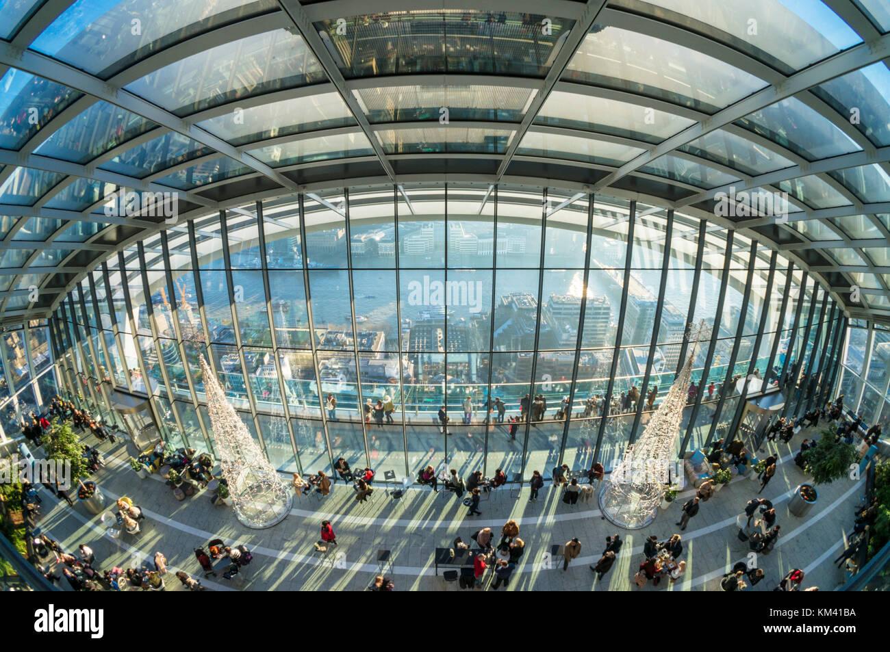England London England London die Walkie talkie Gebäude Hochhaus oder 20 Fenchurch Street London England UK Stockbild