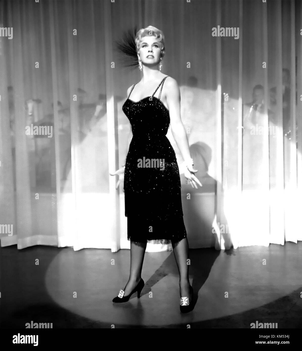 Mich lieben oder mich lassen 1955 mgm Film mit Doris Day Stockbild