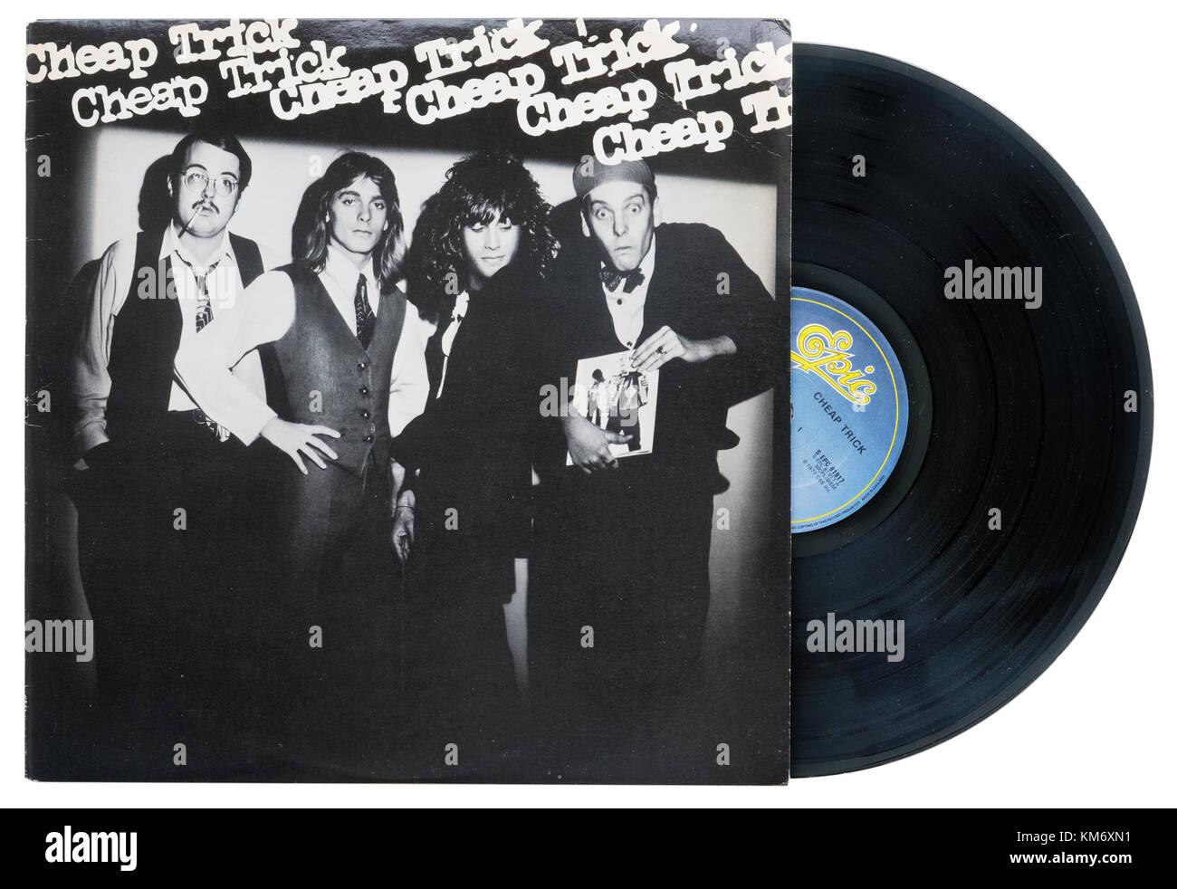 Das gleichnamige Album Cheap Trick Cheap Trick Stockbild