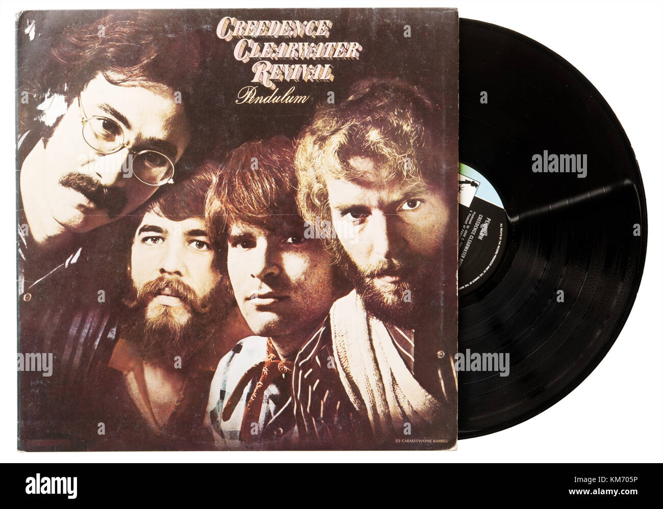 Creedence Clearwater Revival Pendel album Stockbild