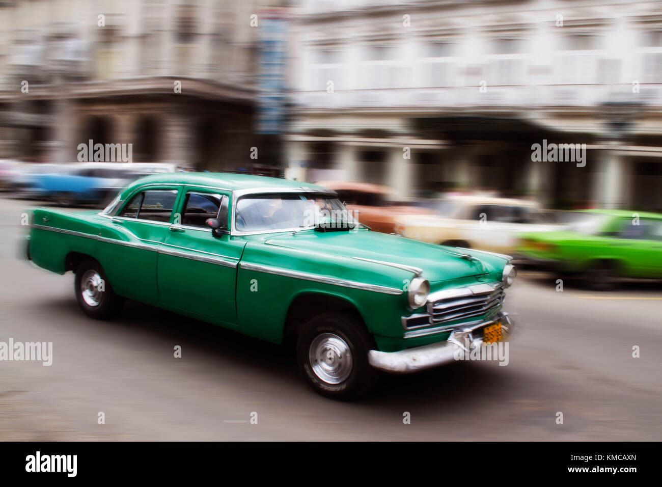 Oldtimer in Havanna, Kuba Stockbild