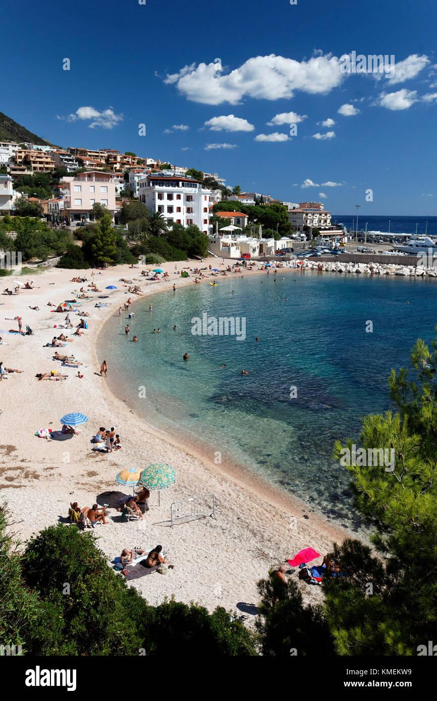 Cala Gorone Italien Sardinien Stockbild