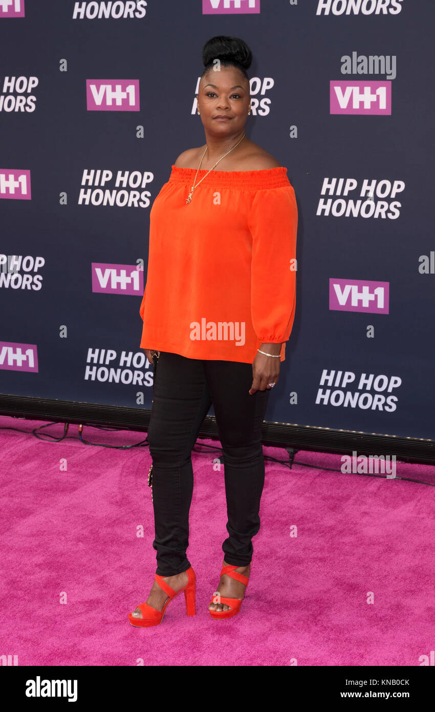 New York, NY - 11. Juli 2016: Roxanne Shante besucht 2016 VH1 Hip Hop Honors: All hail The Queens am Lincoln Center Stockbild